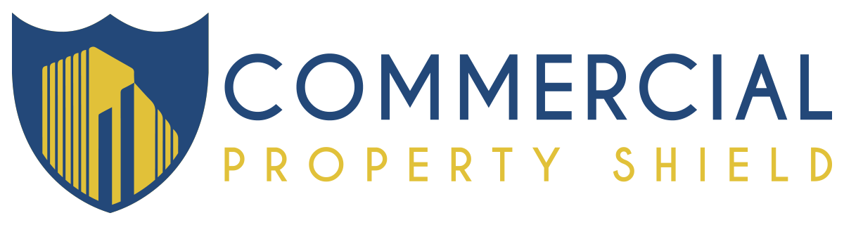 Commercial Property Shield Logo